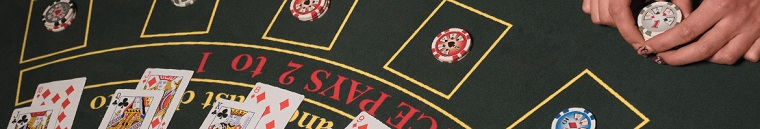 Blackjack table rules