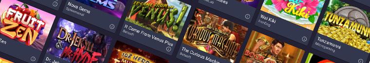cloudbet casino software
